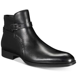 Alfani AlfaTech by Men's Ansell Double Buckle Boot